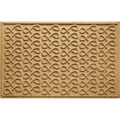 Aqua Shield Cunningham Doormat Color: Gold