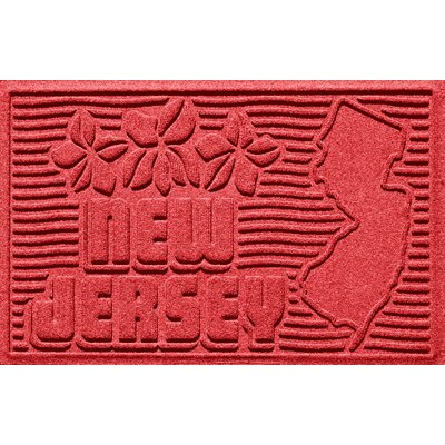Aqua Shield New Jersey Doormat Color: Solid Red