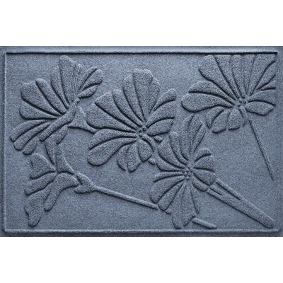 Aqua Shield Spring Flowers Doormat Color: Bluestone