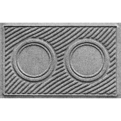 Aqua Shield Wave Pet Feeder Doormat Color: Medium Gray