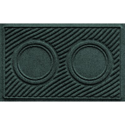 Aqua Shield Wave Pet Feeder Doormat Color: Evergreen