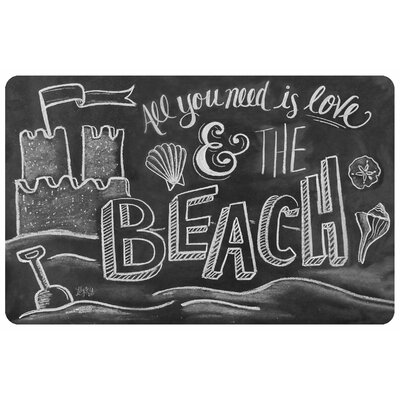 Surfaces Love and the Beach Accent Doormat