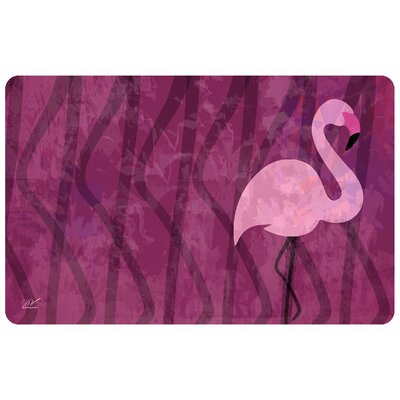 Surfaces Flamingo Doormat Color: Pink