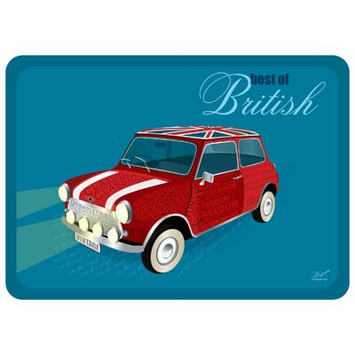 Surfaces British Mini Accent Doormat