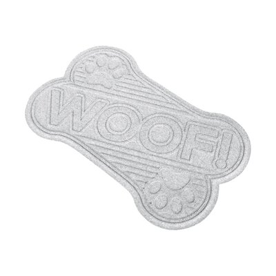 Aqua Shield Woof Doormat Color: White