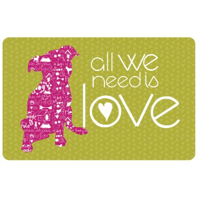 All We Need Is Love Doormat