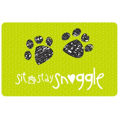 Sit, Stay, Snuggle Doormat