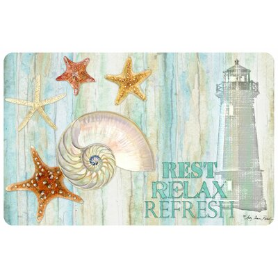 Rest, Relax, Refresh Doormat
