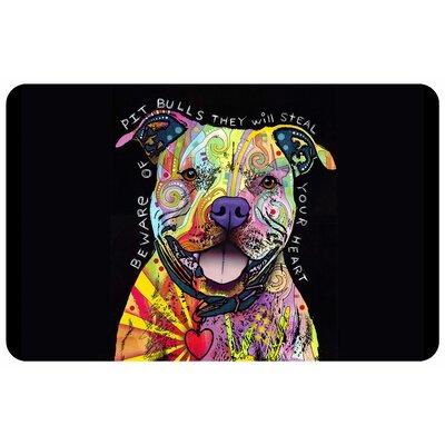 Pit Bull Heart Doormat