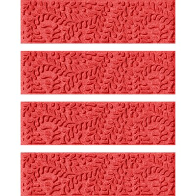 Solid Red Stair Tread