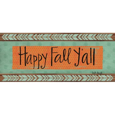 Happy Fall Yall Doormat
