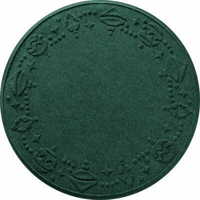 Ornaments Doormat Color: Evergreen