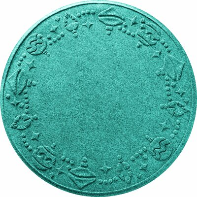Ornaments Doormat Color: Aquamarine