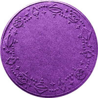 Ornaments Doormat Color: Purple