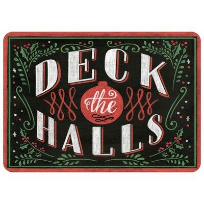 Deck the Halls Doormat