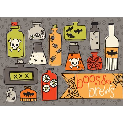 Boos and Brews Doormat