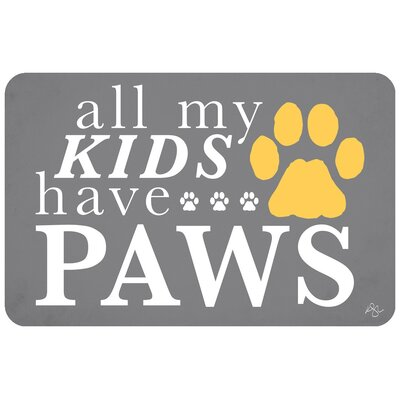 My Kids Have Paws Doormat
