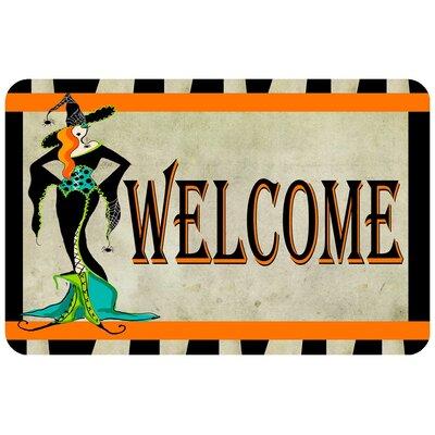 Halloween Welcome Doormat