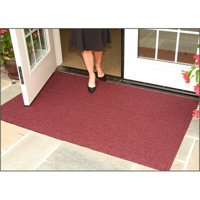 Brush Hog Plus Doormat   Mat Size: 3 x 5, Color: Burgundy