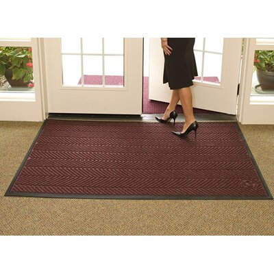 Waterhog Eco Elite Doormat Color: Maroon, Rug Size: 4 x 6