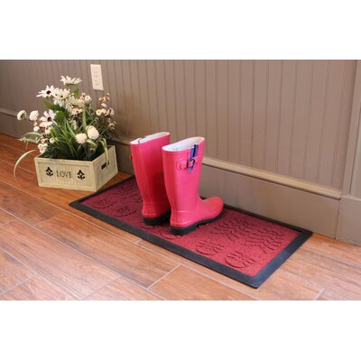 Aqua Shield Lug Sole Boot Tray Color: Red/Black