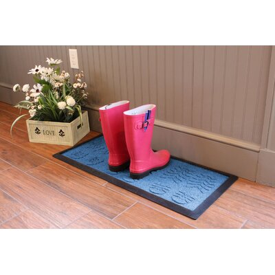 Aqua Shield Lug Sole Boot Tray Color: Medium Blue