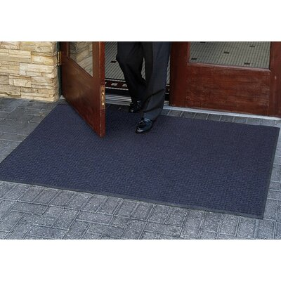 Brush Hog Plus Doormat   Rug Size: 2 x 3, Color: Navy