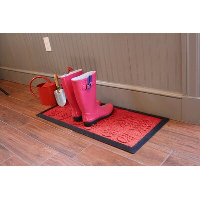 Aqua Shield Lug Sole Boot Tray Color: Solid Red