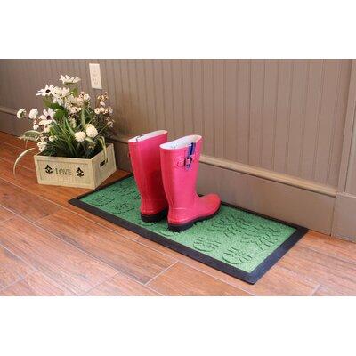 Aqua Shield Lug Sole Boot Tray Color: Light Green
