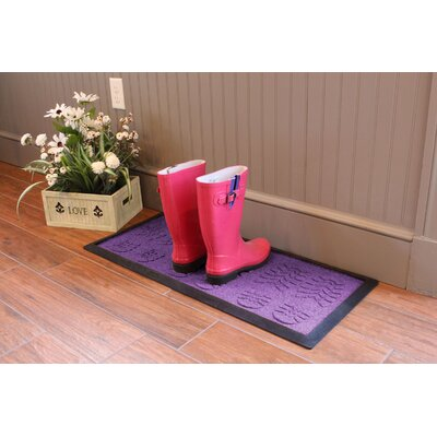 Aqua Shield Lug Sole Boot Tray Color: Purple
