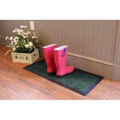 Aqua Shield Lug Sole Boot Tray Color: Evergreen