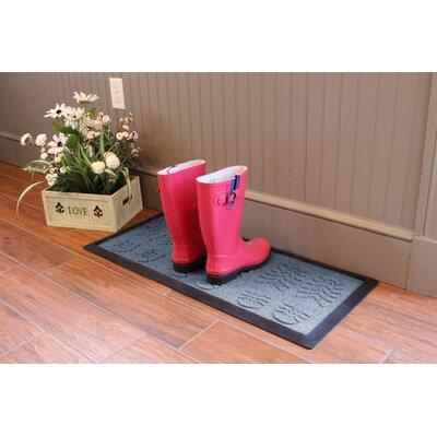 Aqua Shield Lug Sole Boot Tray Color: Bluestone
