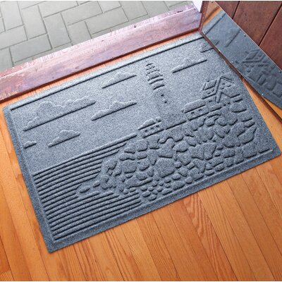 Aqua Shield Lighthouse Cove Doormat Color: Bluestone