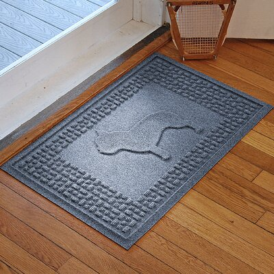 Aqua Shield French Bulldog Doormat Color: Bluestone