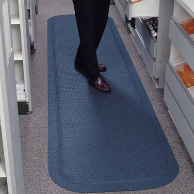 Hog Heaven Fashion Anti-Fatigue Doormat Color: Coal Black, Rug Size: 3 x 5