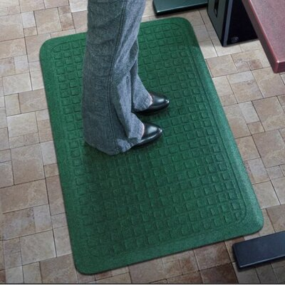 Get Fit Standup Doormat Color: Dark Green, Rug Size: 22 x 50