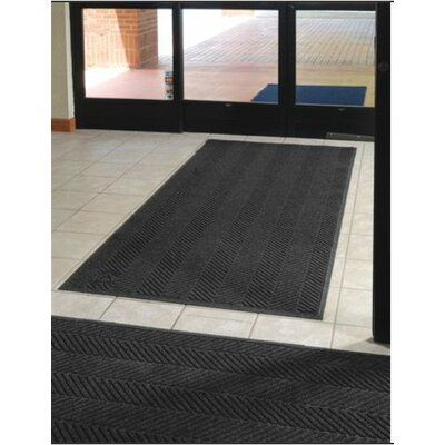 Waterhog Eco Elite Doormat Mat Size: 4 x 6, Color: Black Smoke