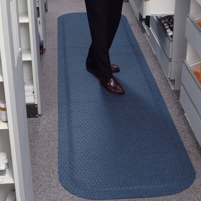 Get Fit Standup Doormat Color: Cobalt Blue, Rug Size: 22 x 50