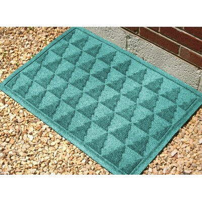 Aqua Shield Pine Trees Doormat