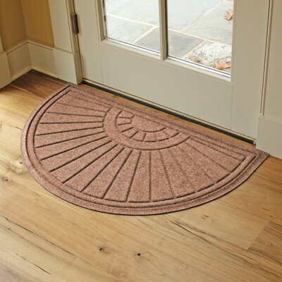 Landry Sunburst Doormat Color: Medium Brown