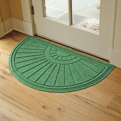 Landry Sunburst Doormat Color: Light Green