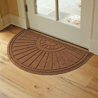 Landry Sunburst Doormat Color: Dark Brown