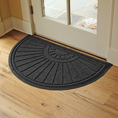 Landry Sunburst Doormat Color: Charcoal