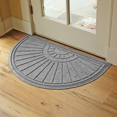 Landry Sunburst Doormat Color: Medium Grey