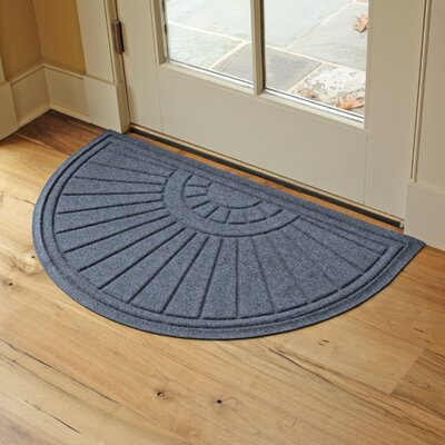 Landry Sunburst Doormat Color: Bluestone