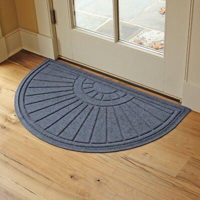 Landry Sunburst Doormat Color: Bluestone