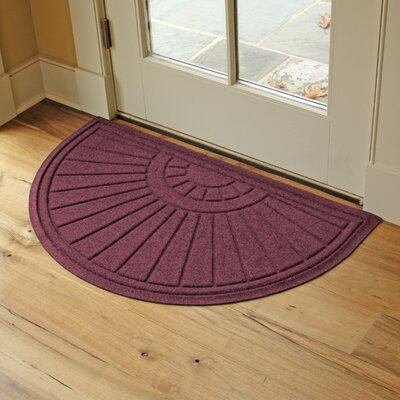 Landry Sunburst Doormat Color: Bordeaux