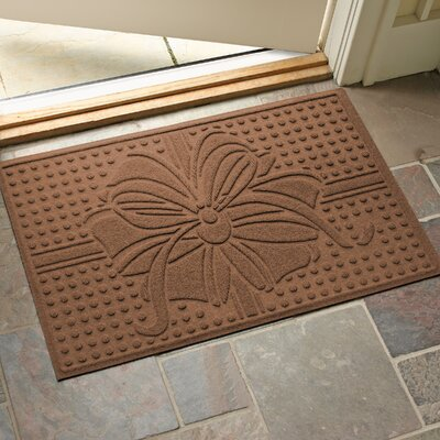 Wrap It Up Outdoor Doormat Color: Dark Brown