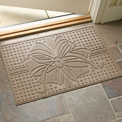 Wrap It Up Outdoor Doormat Color: Camel