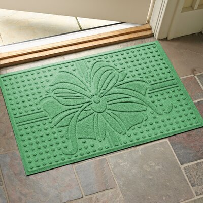 Wrap It Up Outdoor Doormat Color: Light Green
